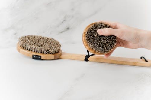 Wooden Handled Massage Brushes