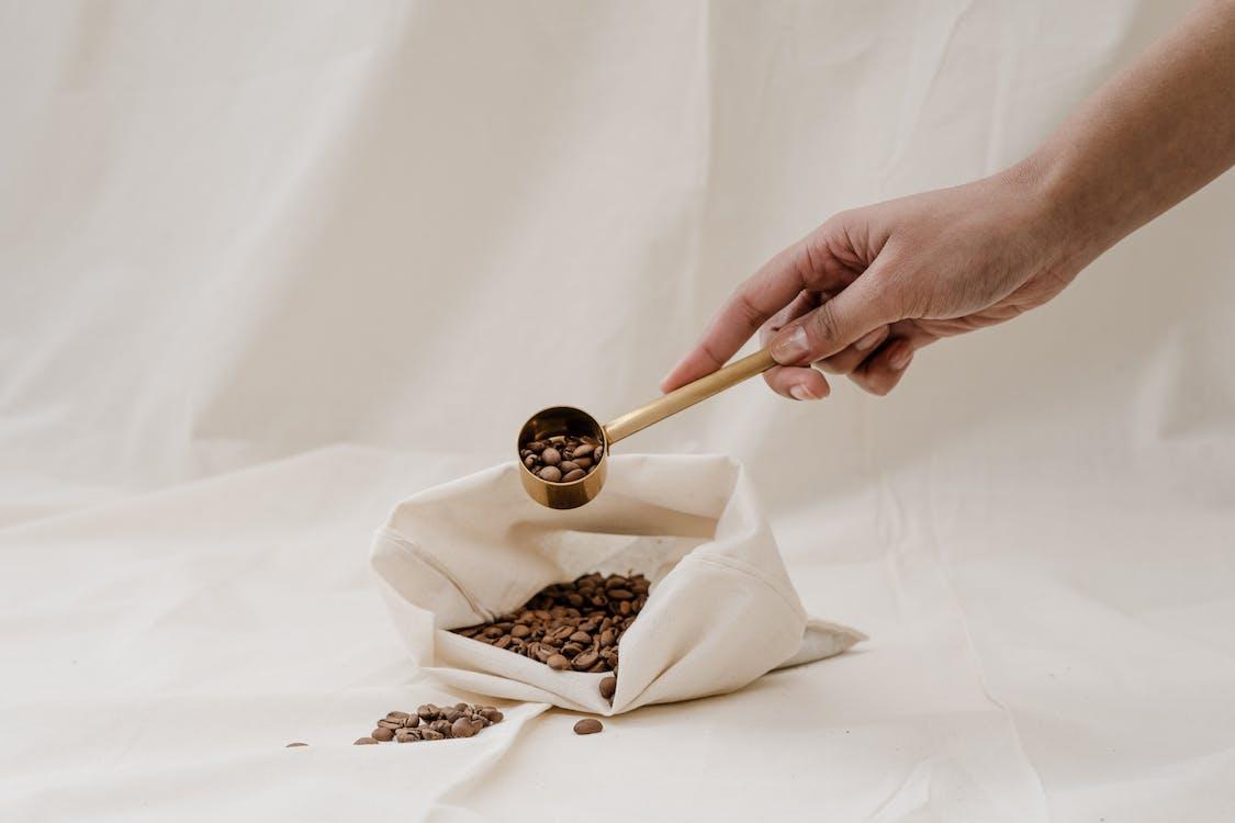 gałka, kawa, kofeina