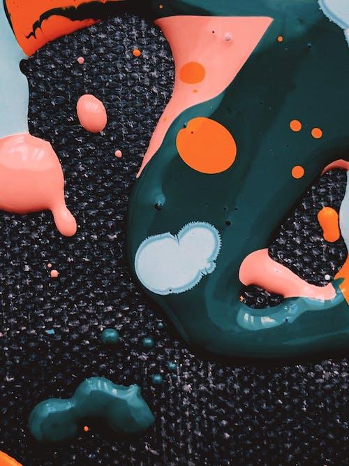 Gratis stockfoto met aardolie, abstract, abstracte vormen, achtergrond