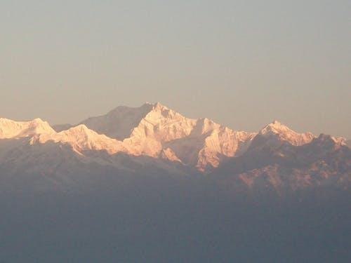 Free stock photo of himalayas, kangchenjunga