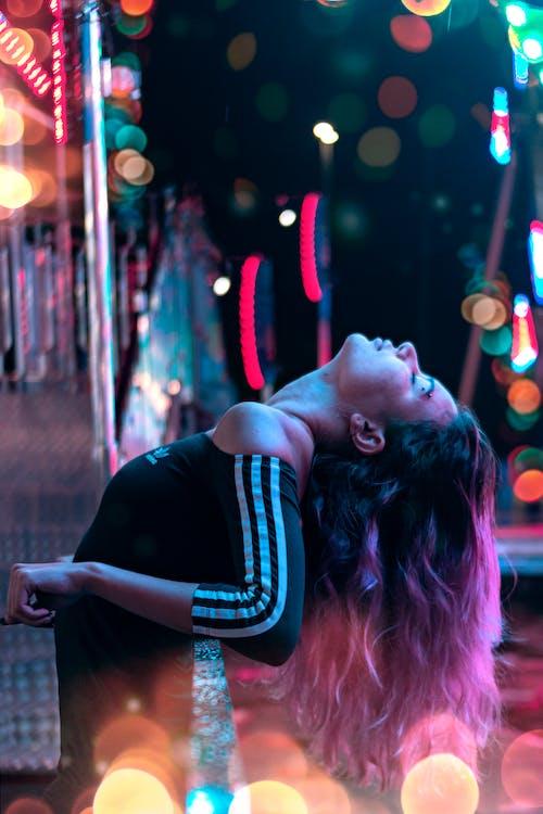 Free stock photo of back light, bokeh, colours festival, neon