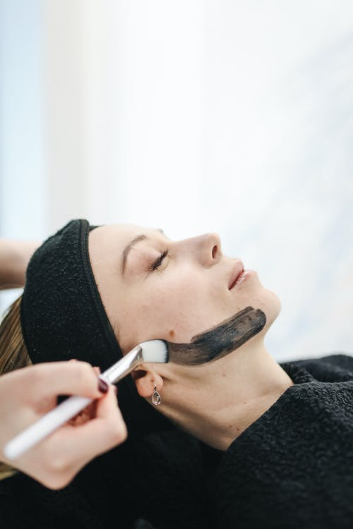 Photo of Woman Having Facial Care