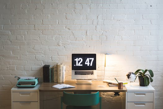Free Stock Photo Of Laptop Wall Table Computer