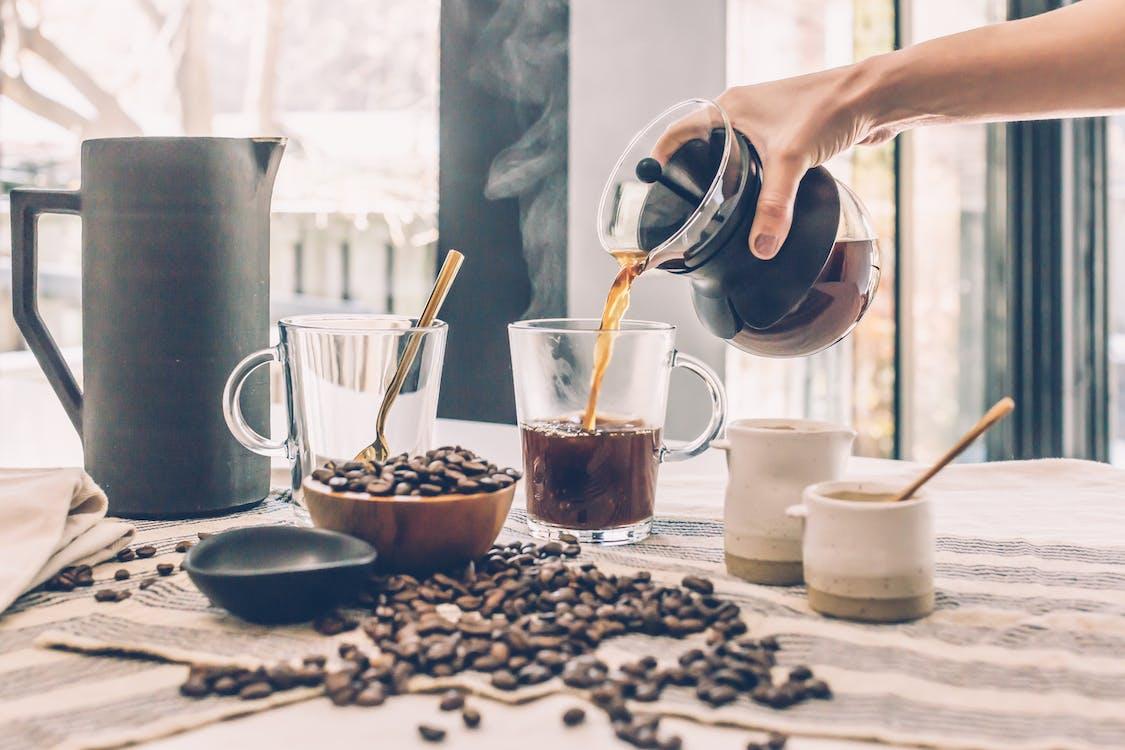 一杯咖啡, 傾注, 卡布奇諾