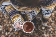 cup, hand, mug