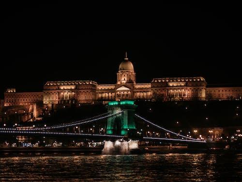 Photo Of Bridge During Night Time