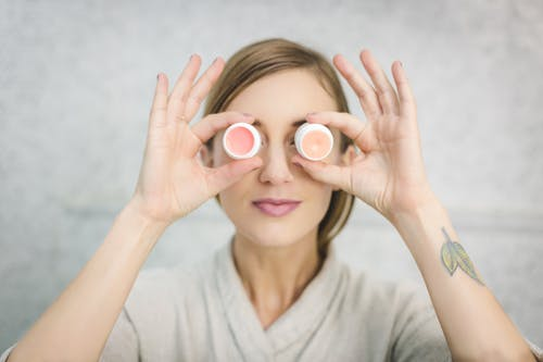 Woman Making Fun With Her Eyes