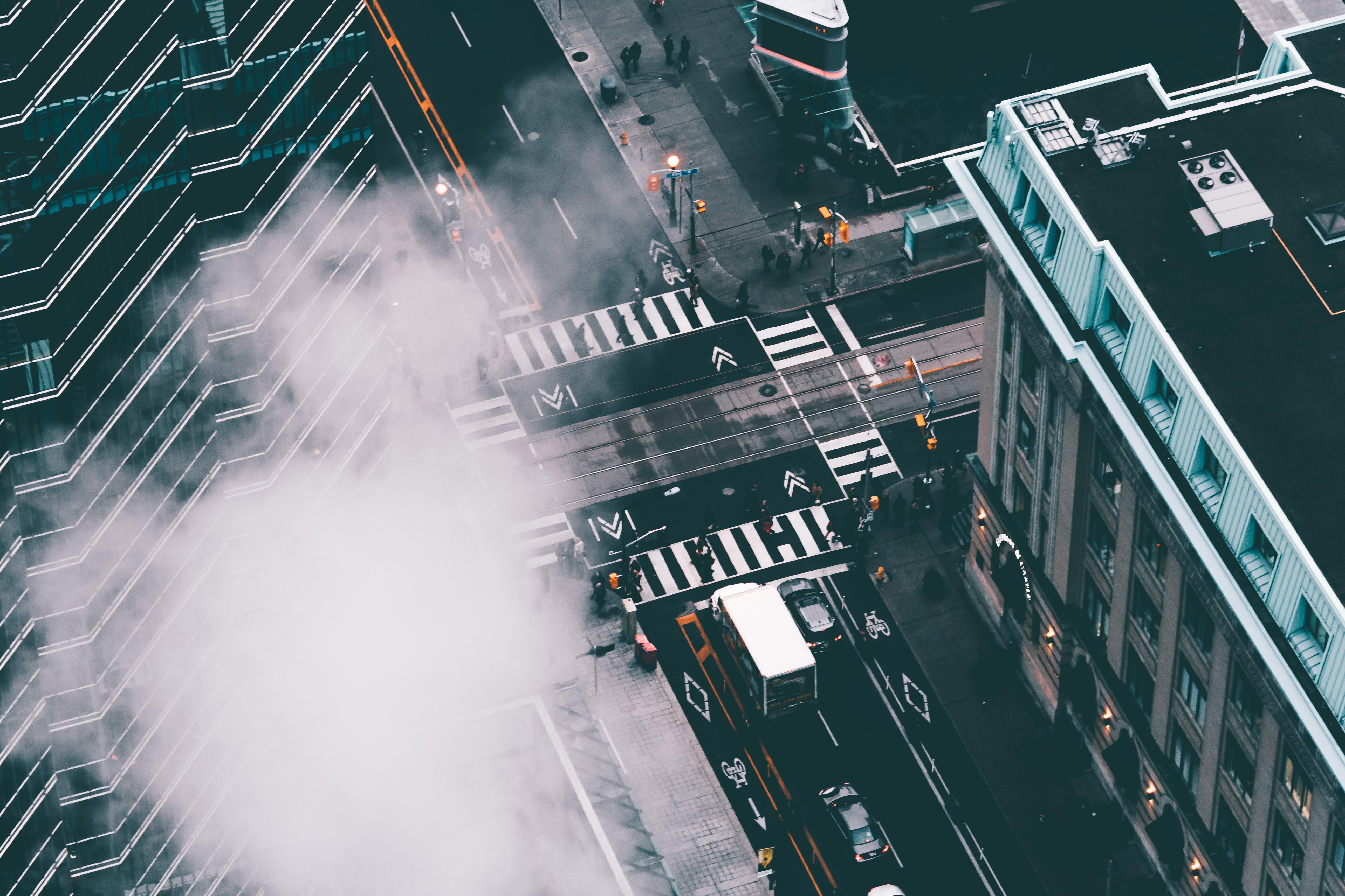 action, architecture, blur