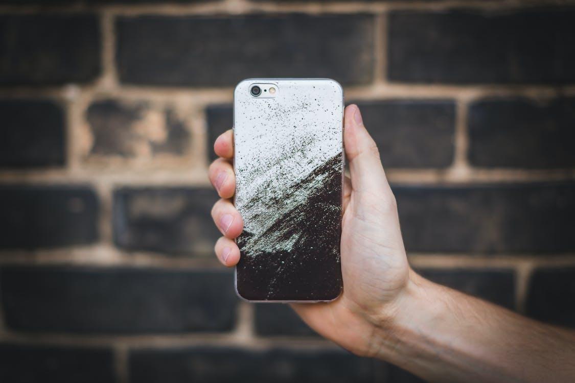 hånd, iPhone, iphone 6
