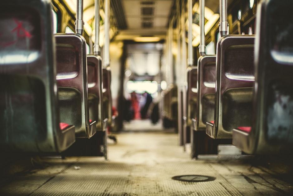 bus, public transportation, seats