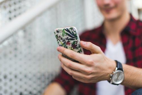 iphone, ハンド, ホールディングの無料の写真素材