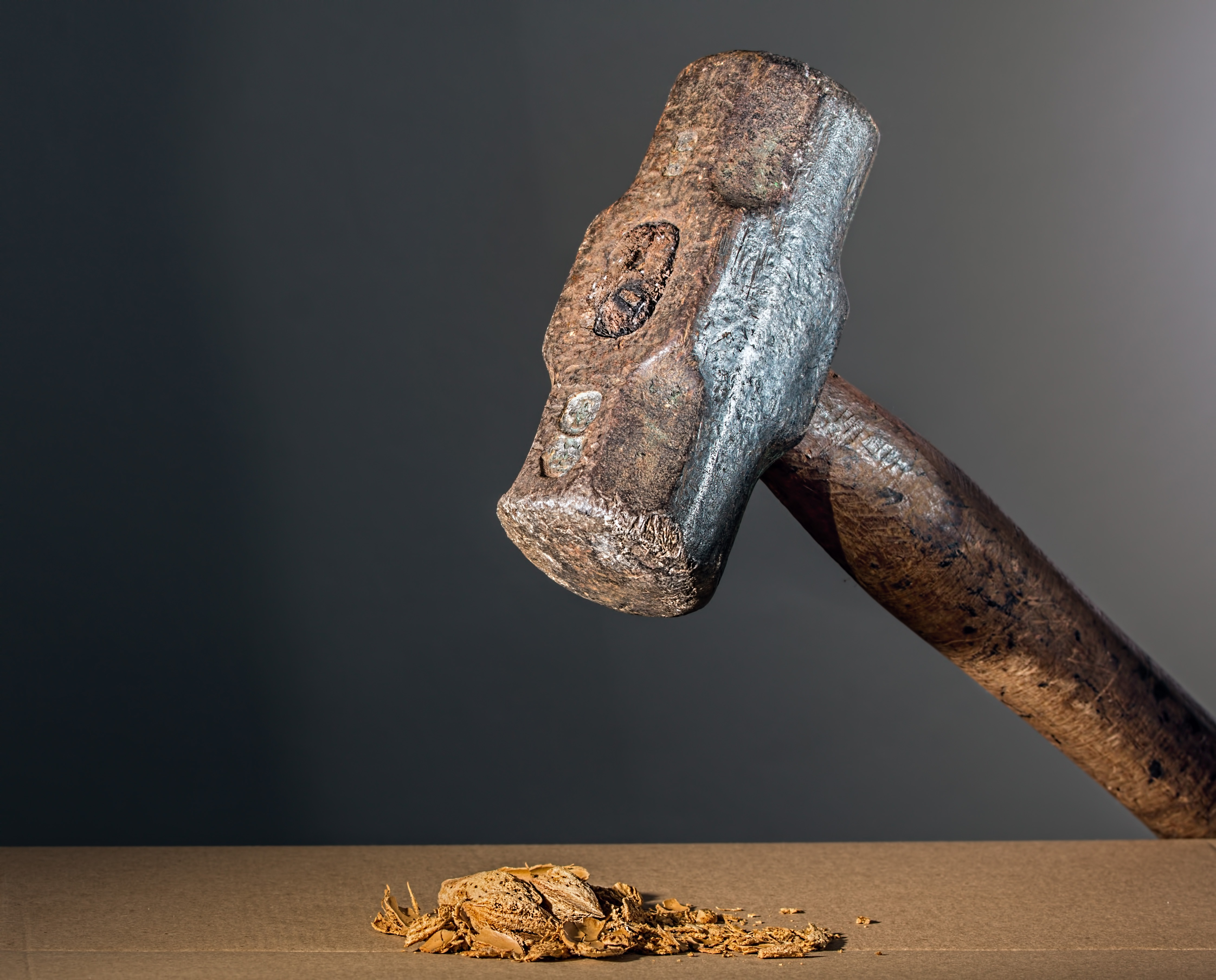 Close-up Photo of Brown Hammer