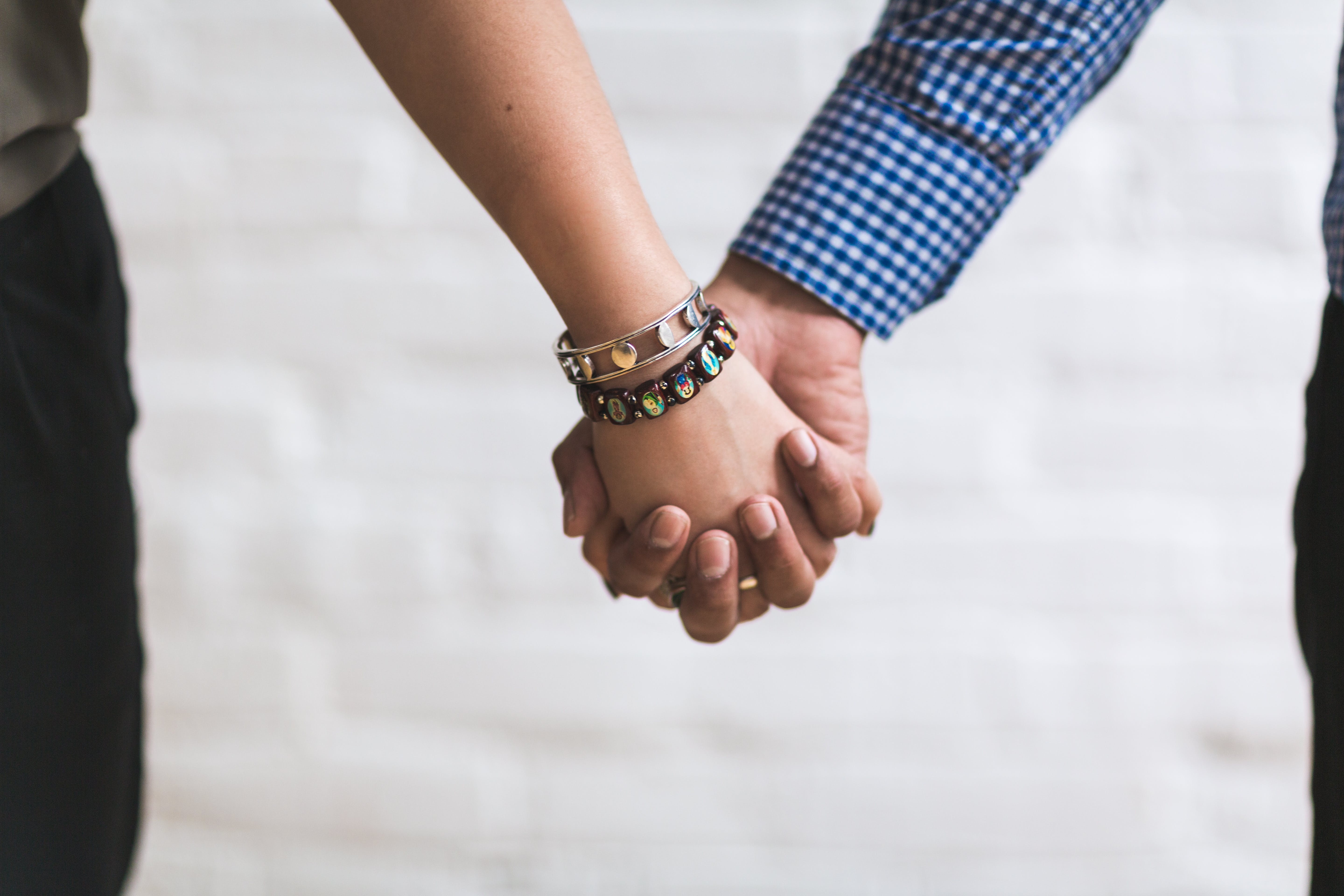 bracelets, couple, ensemble