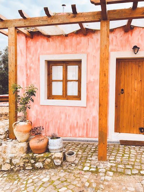 Foto stok gratis #cinta, bagus, melarikan diri, rumah merah muda