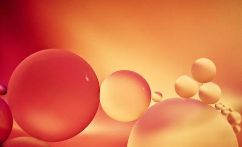 Immagine gratuita di astratto, gocce d'olio, macro foto, primo piano