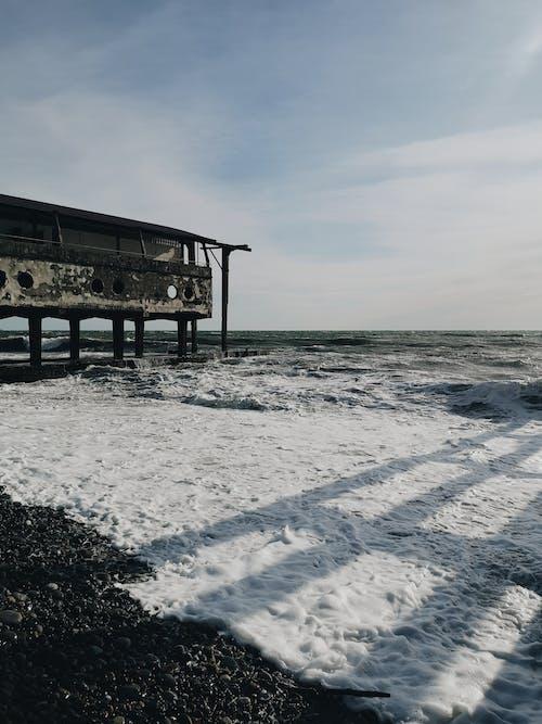 Gratis stockfoto met achtergelaten, leeg gebouw, Rusland, zee avontuur
