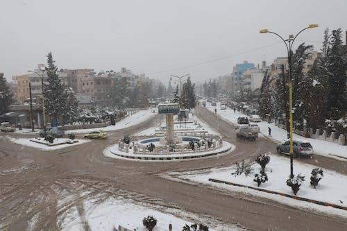 Free stock photo of Al-Qamishli, snow, Syria