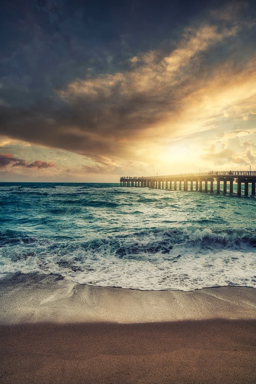 Immagine gratuita di 4k, acqua, alba, bellissimo