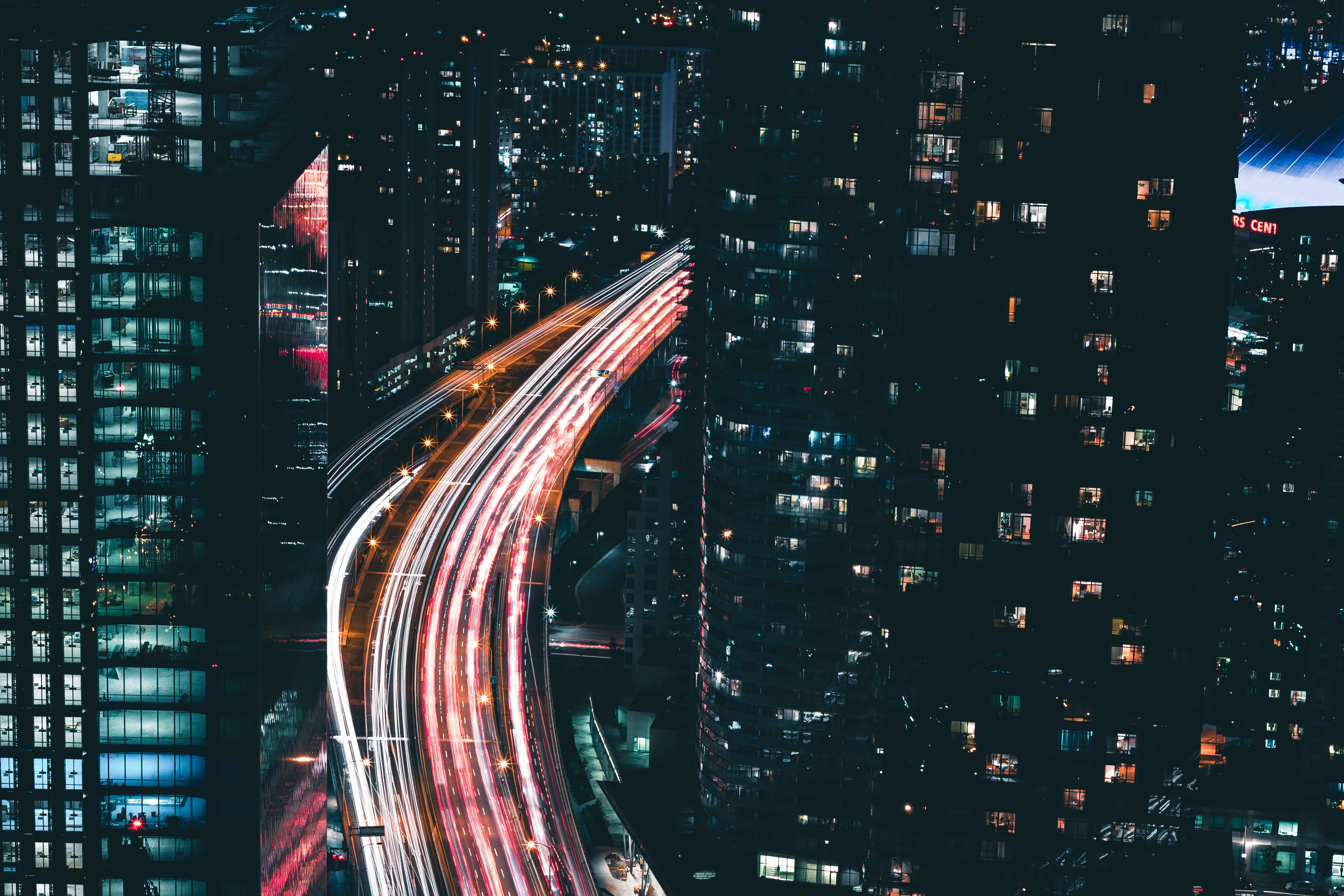 Time-lapse Photography of City