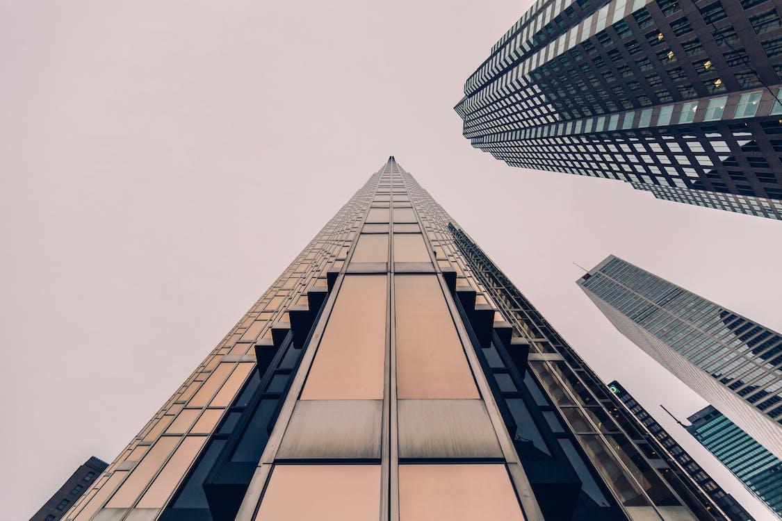 architektura, budovy, centrum města