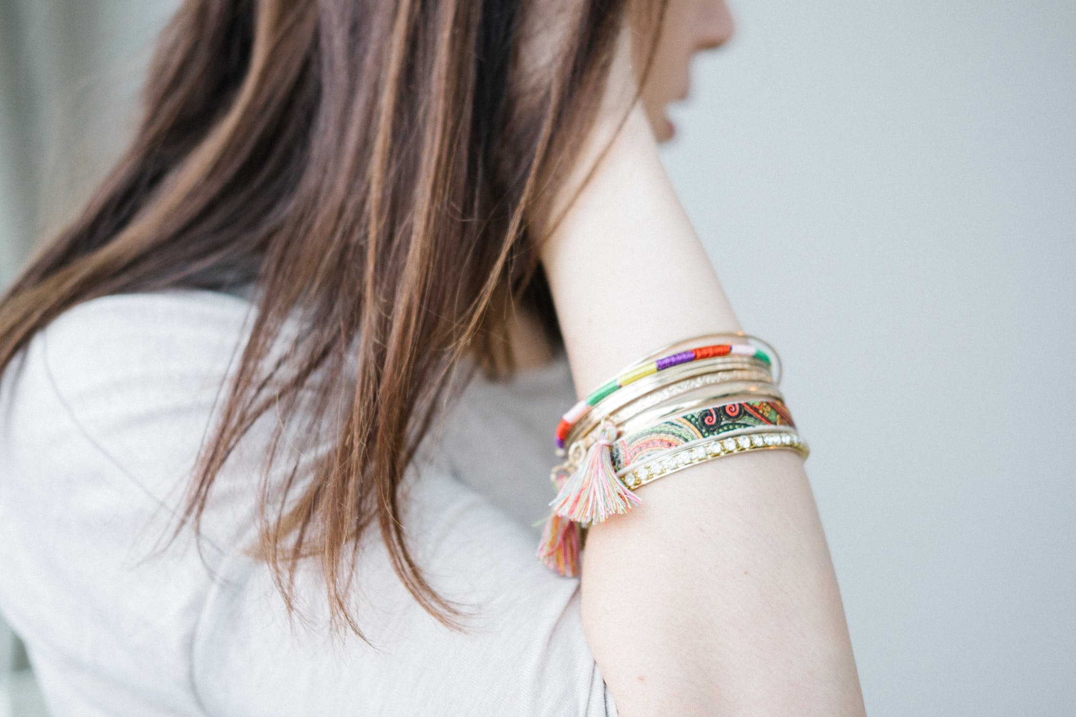 Kostenloses Stock Foto zu armband, fashion, frau, haar