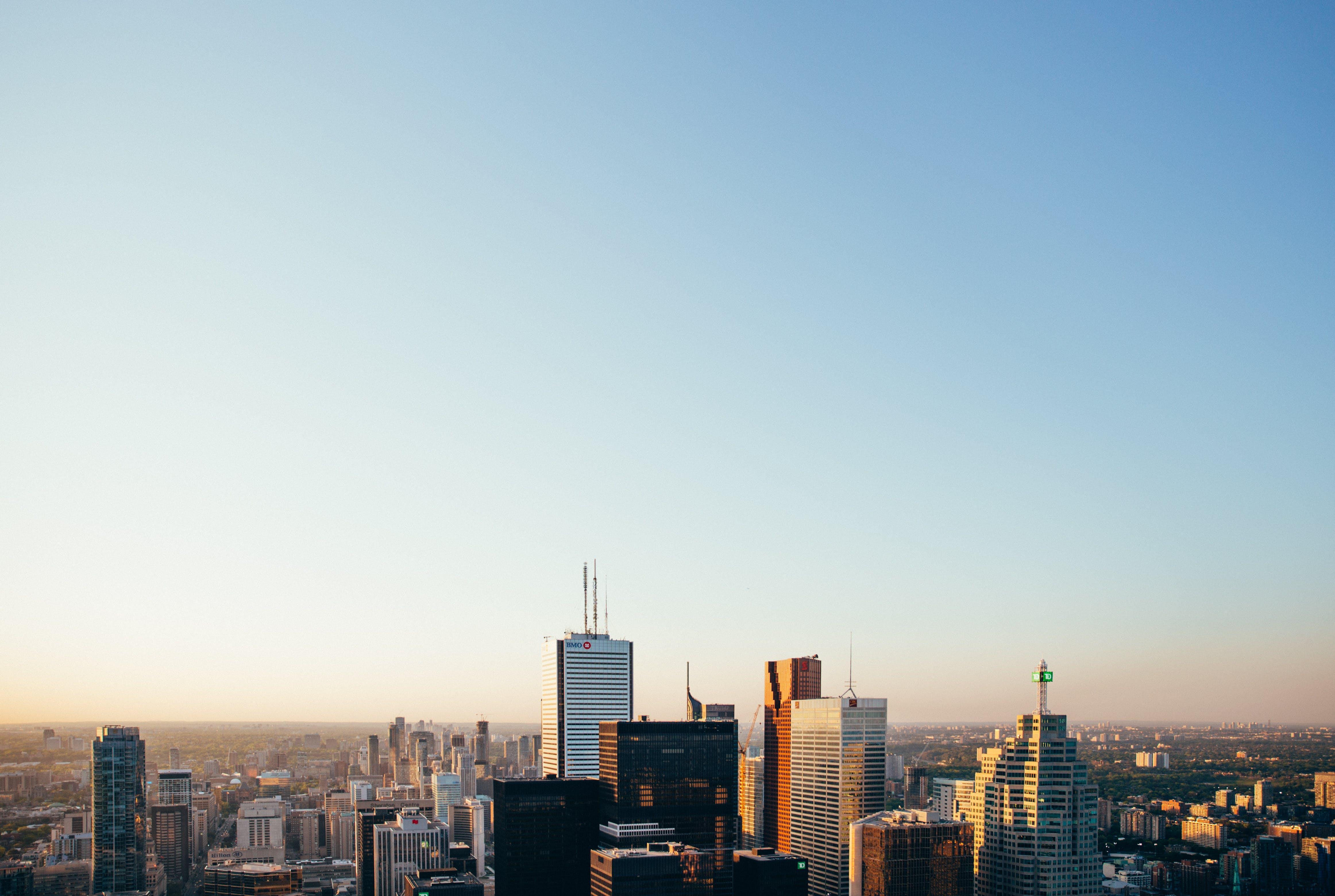 คลังภาพถ่ายฟรี ของ จุดสังเกต, ตึก, ตึกระฟ้า, ทิวทัศน์เมือง