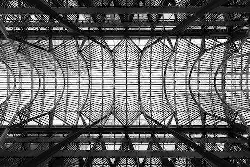 Kostnadsfri bild av arkitektur, byggnad, design, flygplats