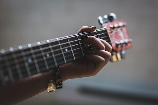 Free stock photo of hand, blur, music, musician