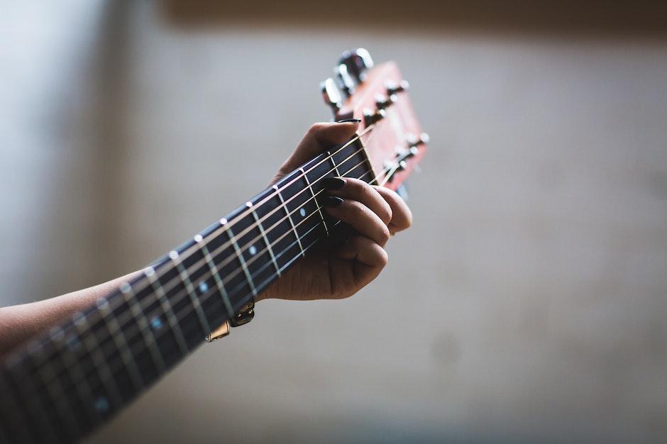 dof, guitar, guitarist