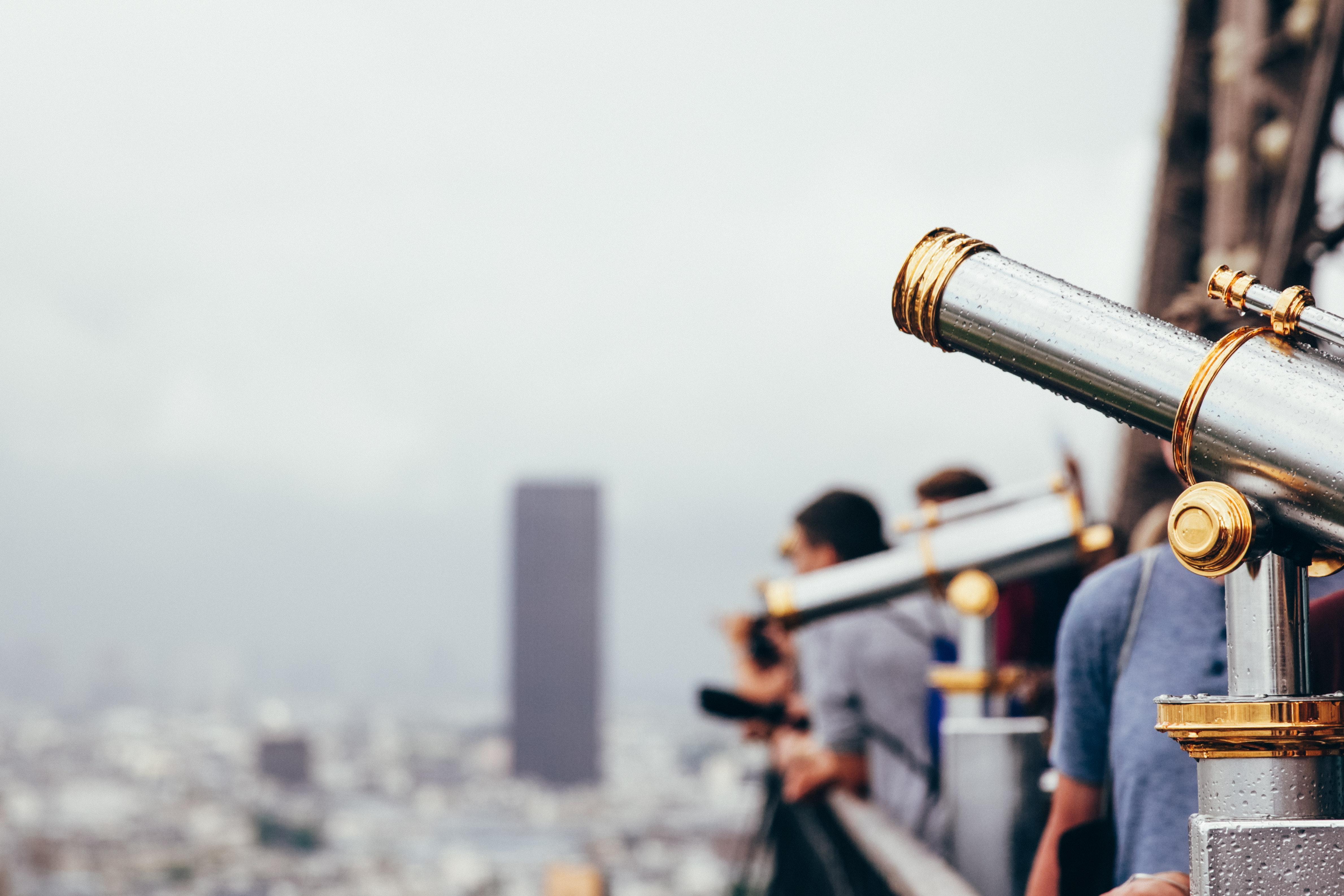 Person Using Telescope 183 Free Stock Photo