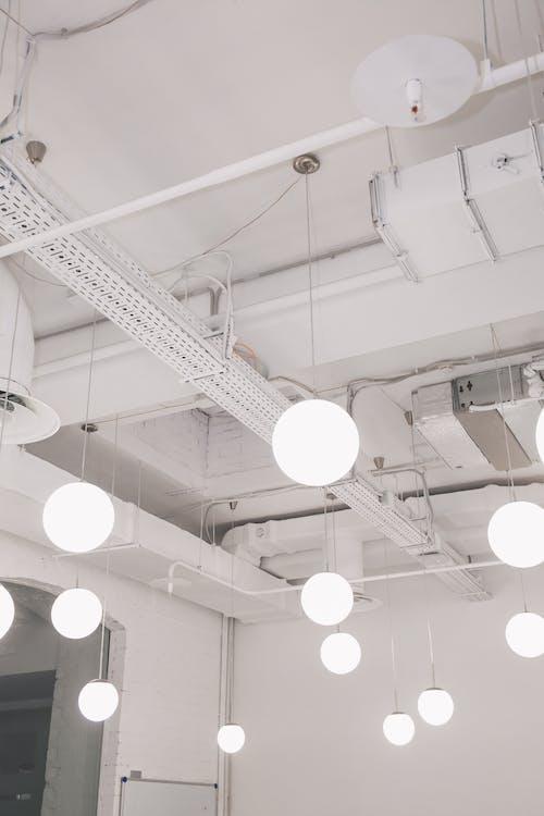 Light Fixtures in Office