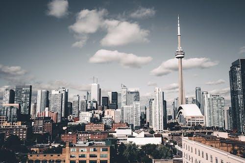 Kostenloses Stock Foto zu architektur, gebäude, innenstadt, panorama