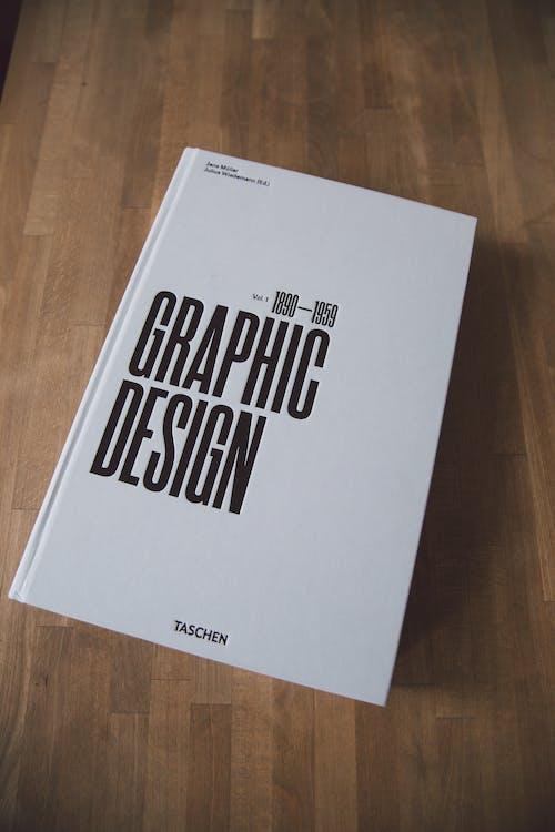 White and Black Graphic Design Book