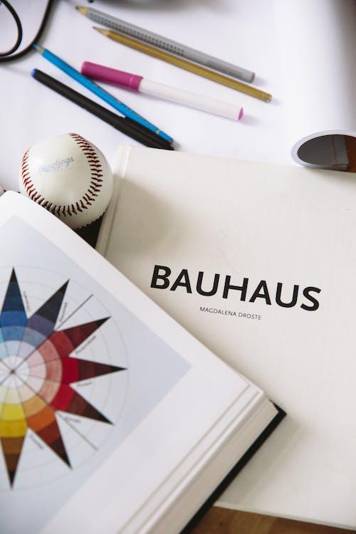 Fotobanka sbezplatnými fotkami na tému architektúra, bauhaus, bejzbal, grafický dizajn