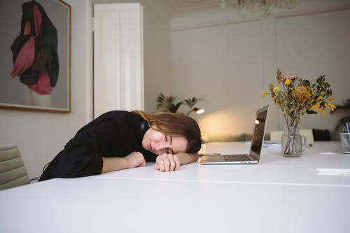 Photo Of Woman Sleeping On Table