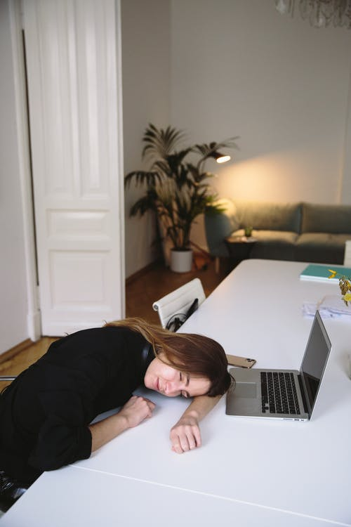 Photo Of Woman Sleeping On Table