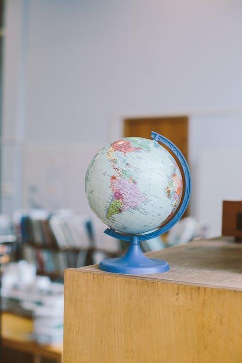 Globe on Shelf