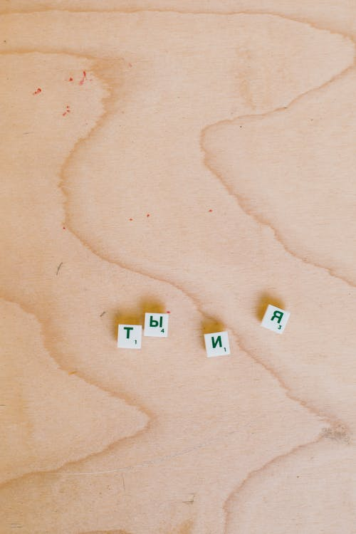 Photo Of Scrabble Pieces