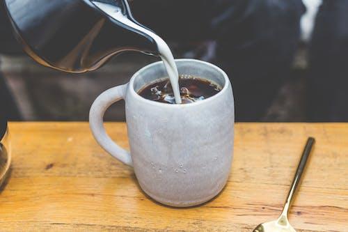 Gratis stockfoto met cafeïne, cappuccino, drinken, espresso