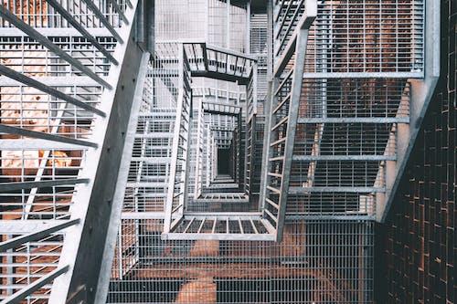 Gratis stockfoto met architectuur, bovenaanzicht, gezichtspunt, perspectief