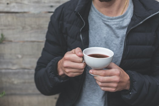 Free stock photo of man, person, hands, coffee