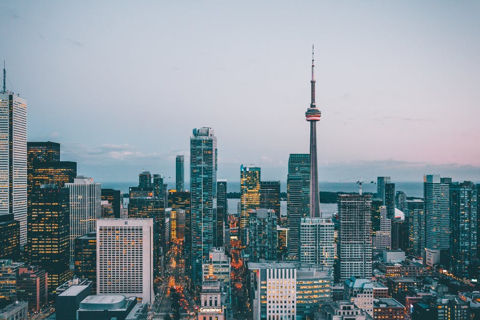 New free stock photo of city, dawn, landmark