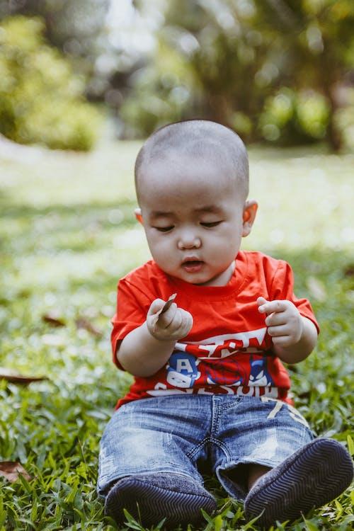 Kostenloses Stock Foto zu baby, junge, kleiner junge