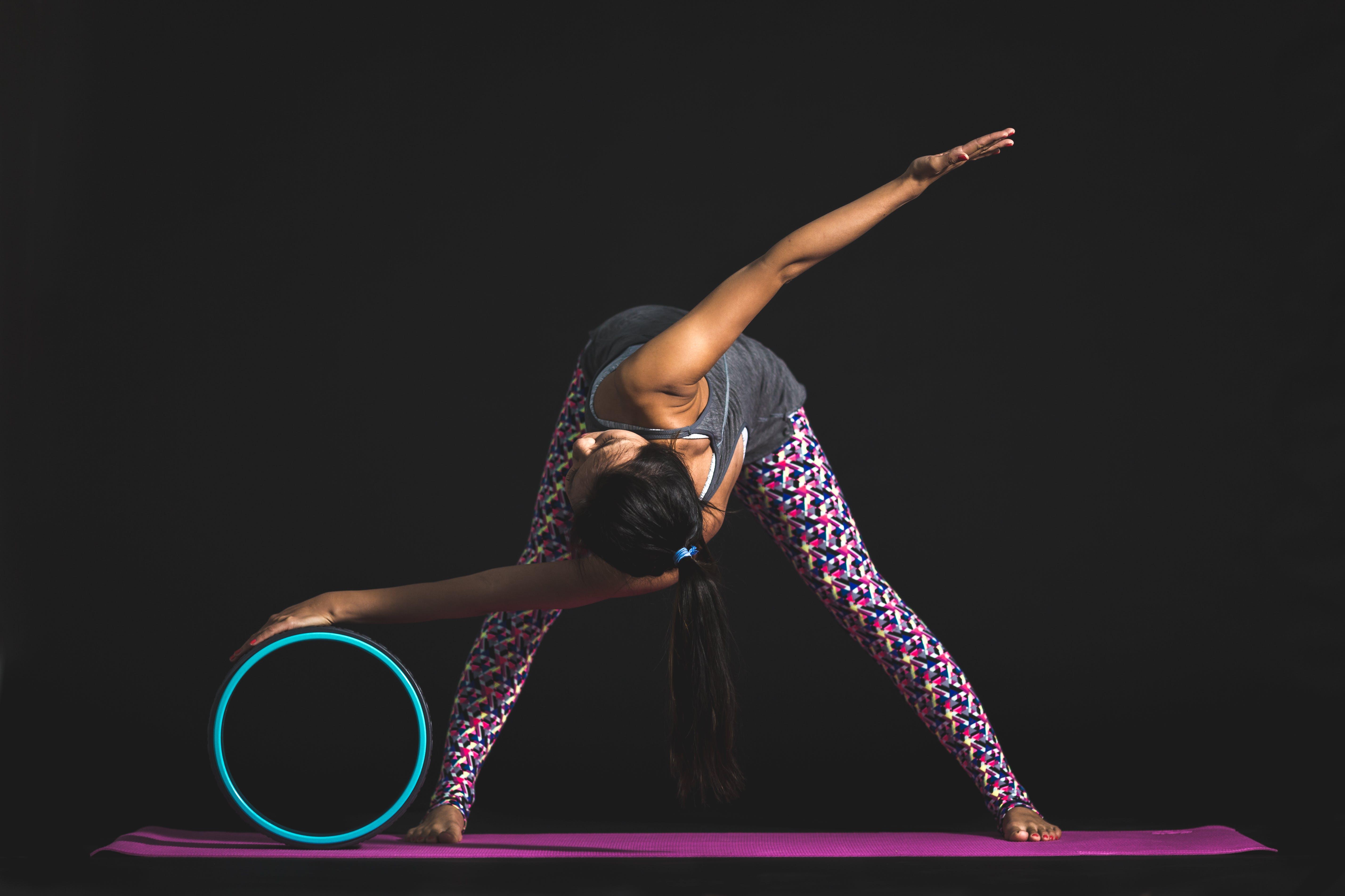 คลังภาพถ่ายฟรี ของ การออกกำลังกาย, กิจกรรม, คล่องตัว, ผู้หญิง
