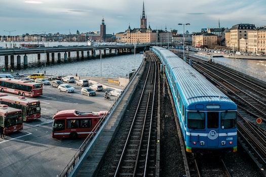 Free stock photo of city, urban, subway, trains