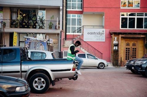 Imagine de stoc gratuită din așteptare, auto, autoturisme, bărbat de culoare