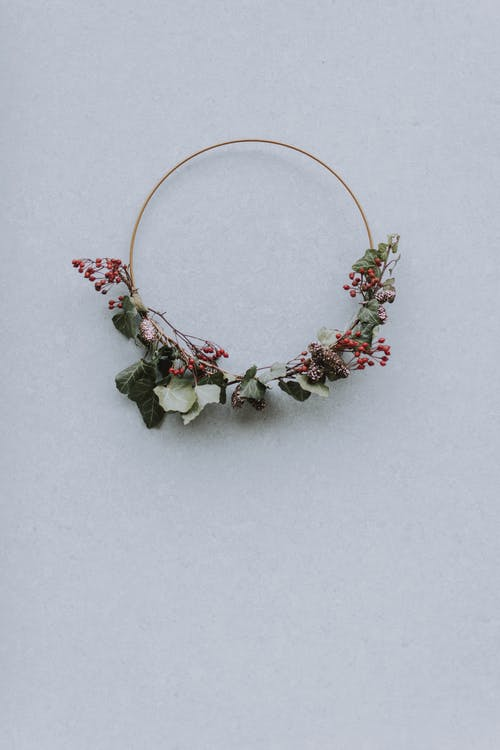 Gratis arkivbilde med blader, blomsterkrans, dekorasjon, form