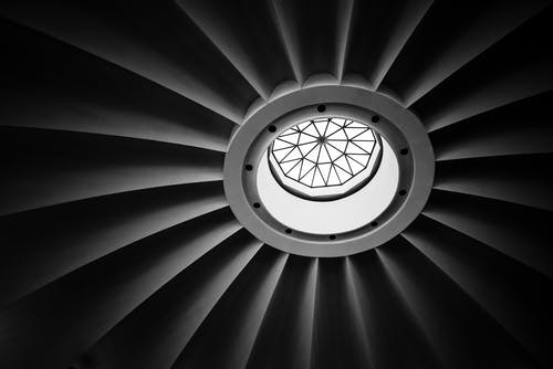 Immagine gratuita di 4k, abbazia, architettura, bianco e nero