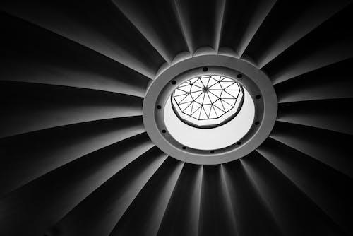 Základová fotografie zdarma na téma 4k, architektura, černobílá, církev