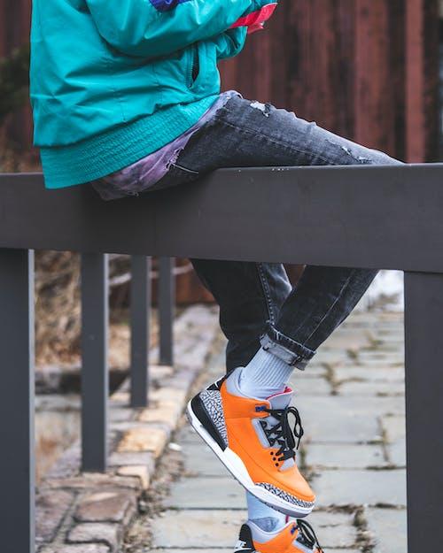 Ingyenes stockfotó akció, állóképesség, cipő, divat témában